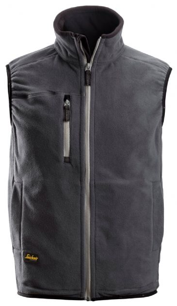 Snickers 8014 A.I.S. Fleece Vest (Steel Grey)